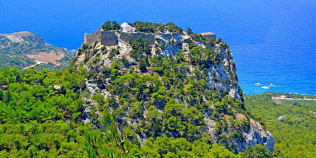 Monolithos in Rhodes, Greece