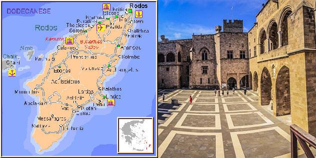 Rhodes Maps