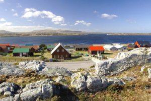 Falkland islands map , South America - Detailed map of Falkland islands