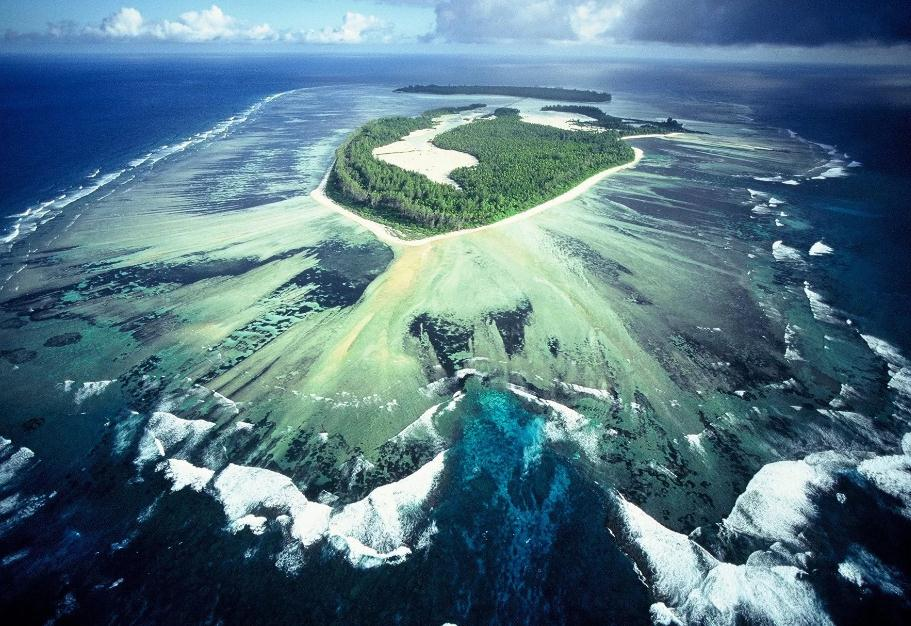Nauru map OCEANIA - Country map of Nauru