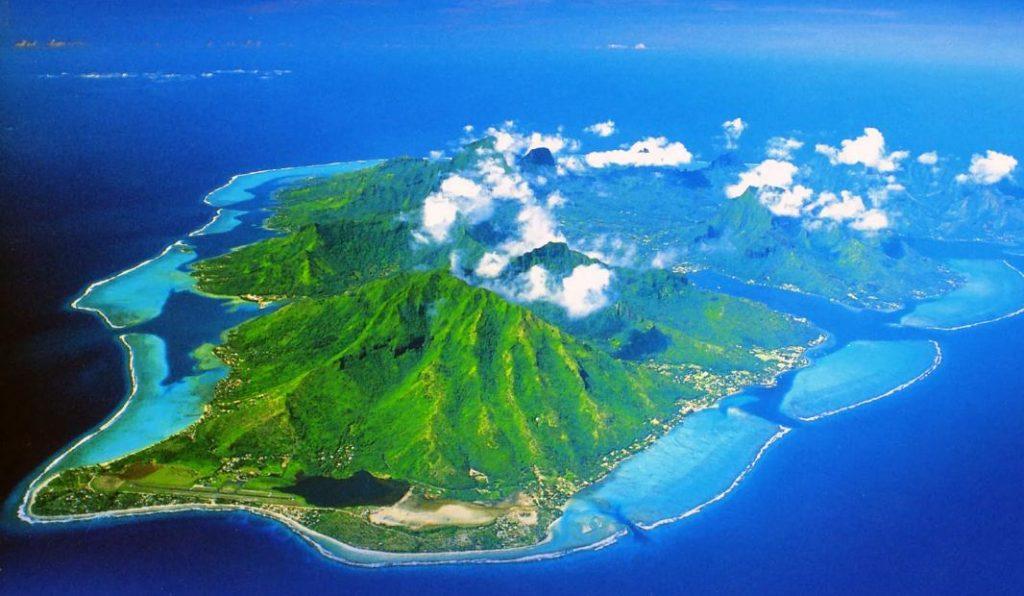 French Polynesia map OCEANIA - Country map of French Polynesia