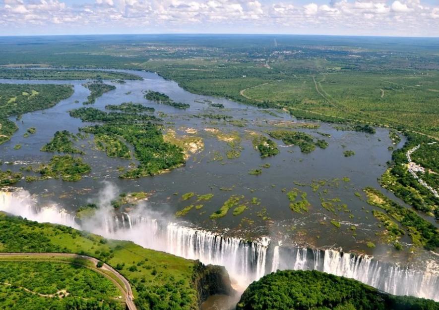Zimbabwe map AFRICA - Country map of Zimbabwe