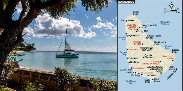 Barbados Maps