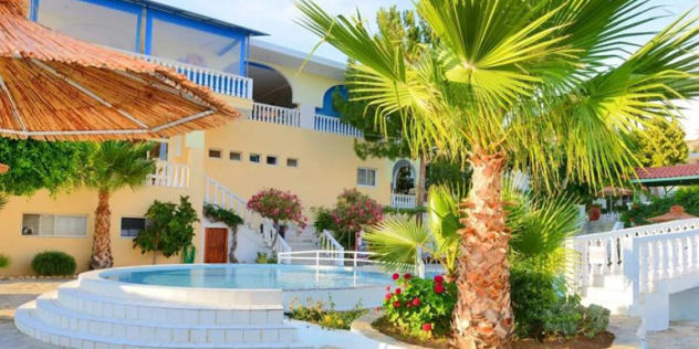 Pefkos in Rhodes, Greece