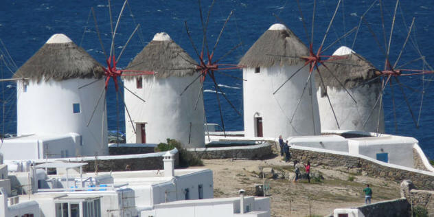 The Majestic Windmills of Mykonos: Historical Attraction