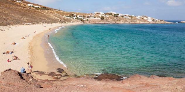 Agios Sostis Beach - A Mykonos Adventure