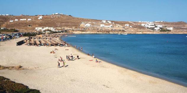 Kalo Livadi Beach - A Mykonos Adventure
