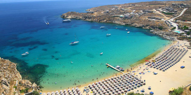 Super Paradise Beach - A Mykonos Adventure
